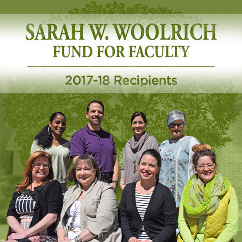 2018 Woolrich Award Recipients