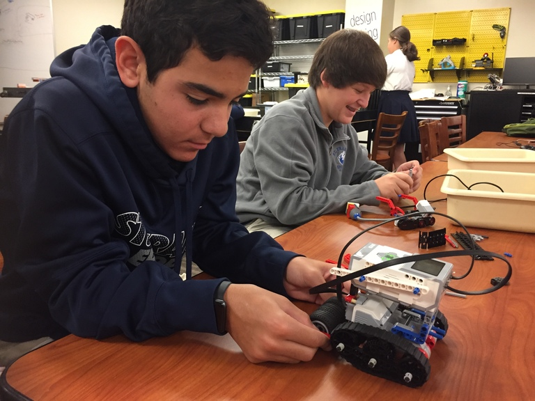 Students Power Up Robotics to Solve Real-World Problems