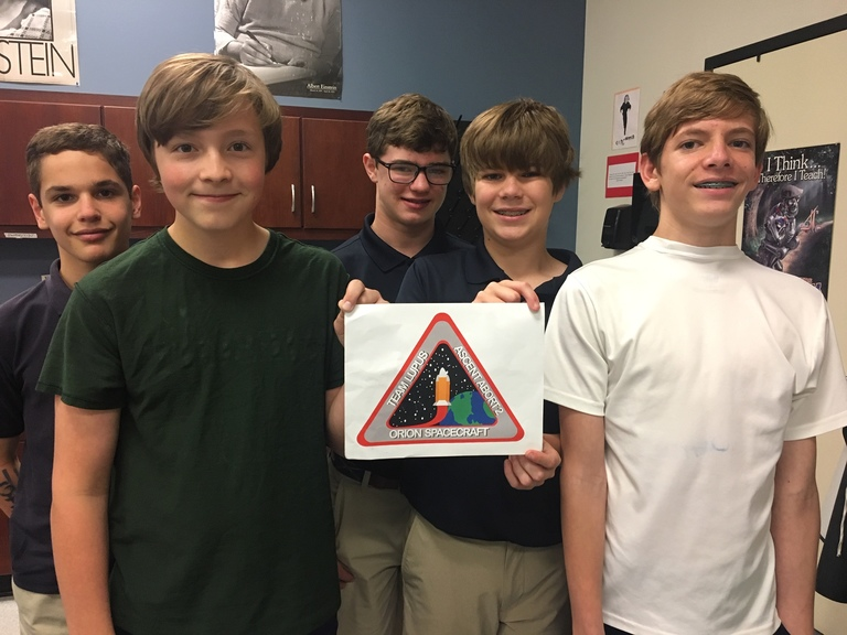 Middle School Science Rockets to Success in NASA Challenge