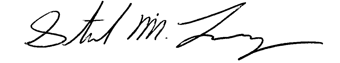 Steve Lovejoy signature