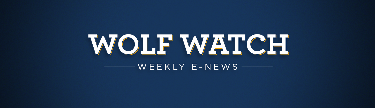 Wolf Watch Weekly E-News