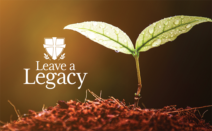 leave a legacy with planned giving